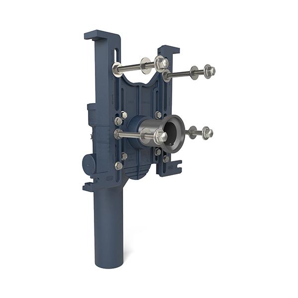 Z1202 H EZCarry® High Performance Adjustable Vertical Hub And Spigot Water  Closet Carrier